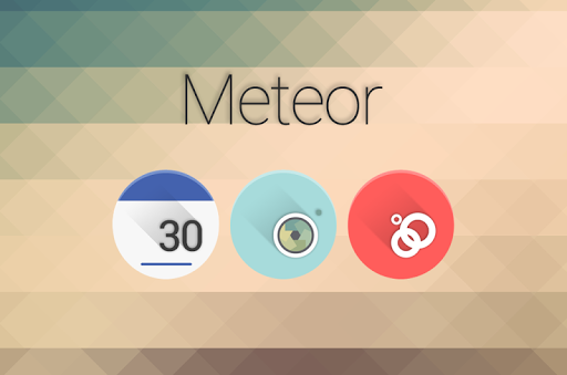Meteor – Icon Pack v1.1