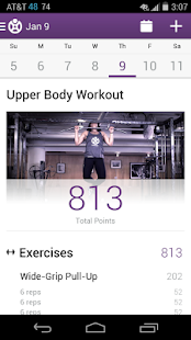 Fitocracy Workout Fitness Log Screenshot 1