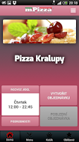 Screenshot of Pizza Kralupy