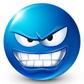 Blue Smileys by Emoji World ™