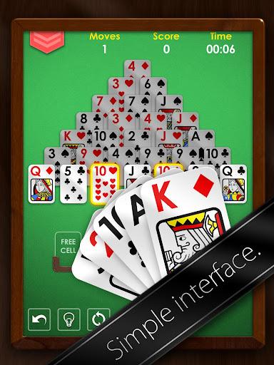 Pyramid Solitaire Premium - Free Card Game Apk Download 7