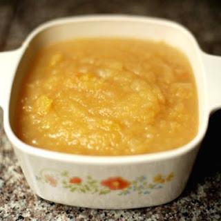 Maple Vanilla Applesauce