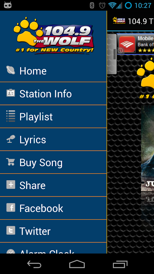 104.9 The Wolf - screenshot