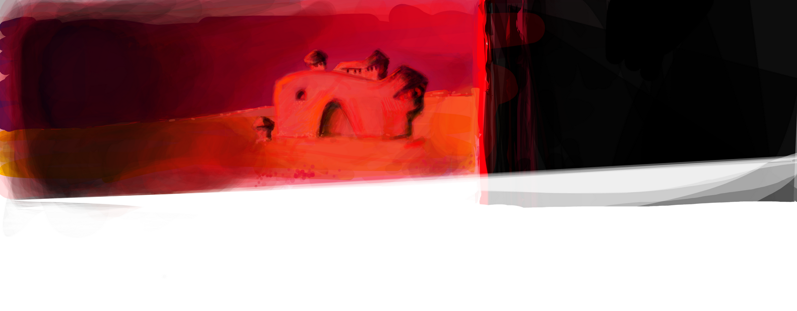 Sand Red Castle
