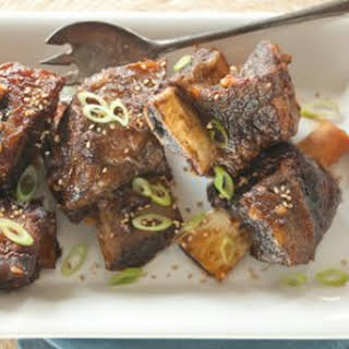 Slow Cooker Asian Short Ribs.