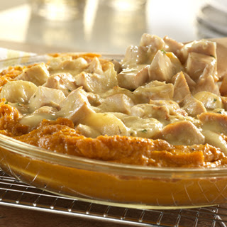 Turkey Sweet Potato Casserole.