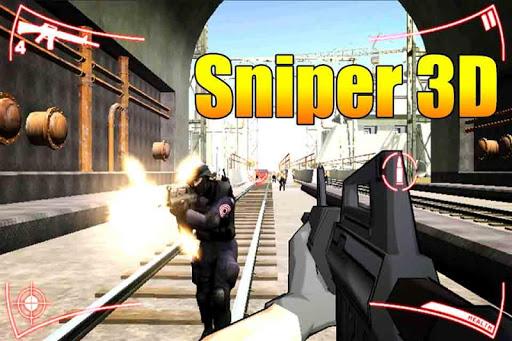 狙擊手射擊:超級殺手3D