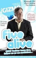 Screenshot of iGIZMO Magazine