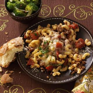 Stovetop Italian Macaroni.