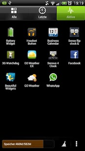 HTC Sense 4.0 Go Theme - screenshot thumbnail