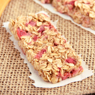Strawberry Banana Granola Bars.