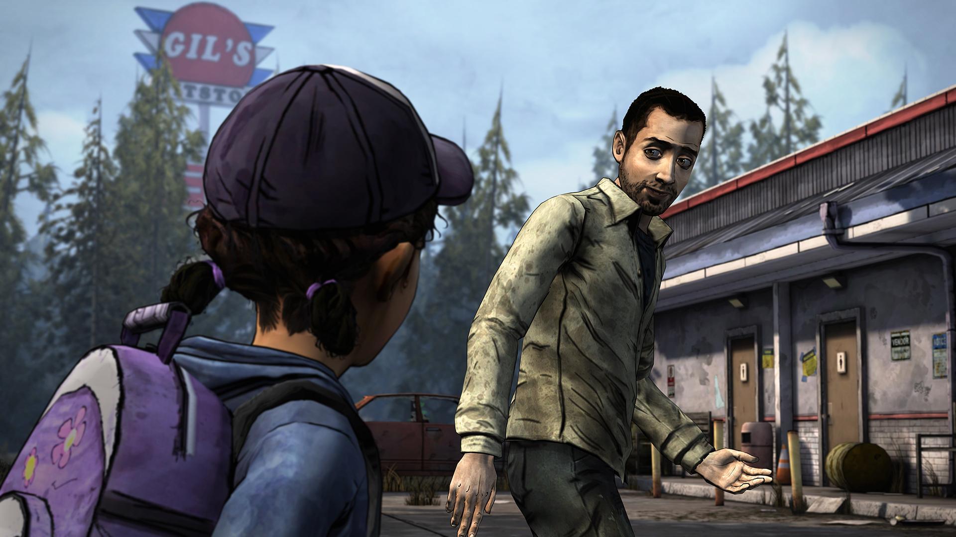 The Walking Dead: Season Two screenshot #2