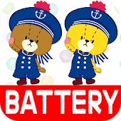 BATTERY WIDGET TINY TWIN BEARS