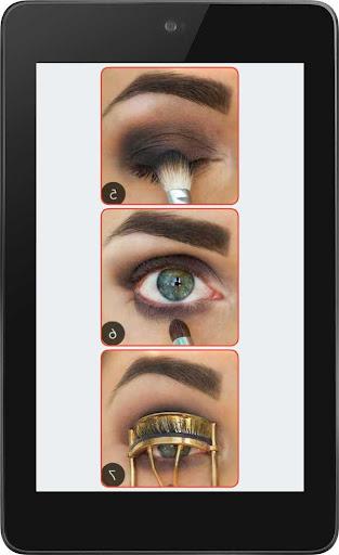 通过第2步眼妆步骤