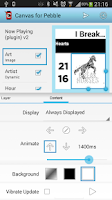 Screenshot of Canvas for Pebble