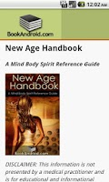 Screenshot of New Age Handbook