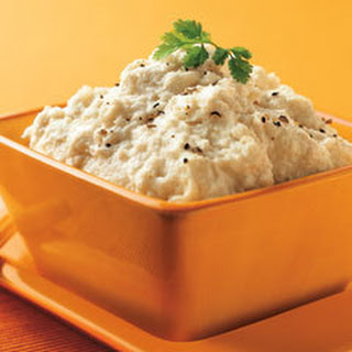 Rich & Creamy Mashed Cauliflower.