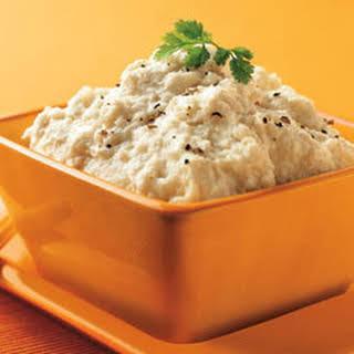 Rich & Creamy Mashed Cauliflower.