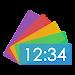 Overlay Digital Clock Icon
