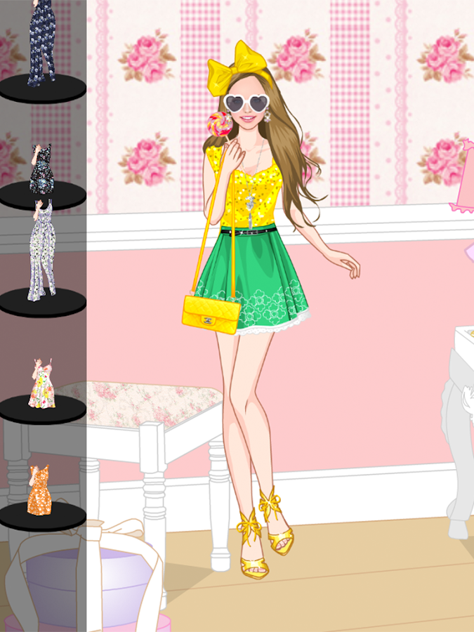 Floral Summer dress up game - Android Apps on Google Play