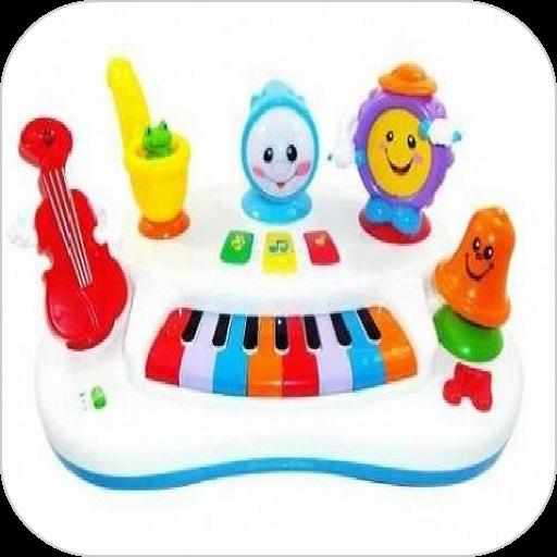 儿童钢琴的动物