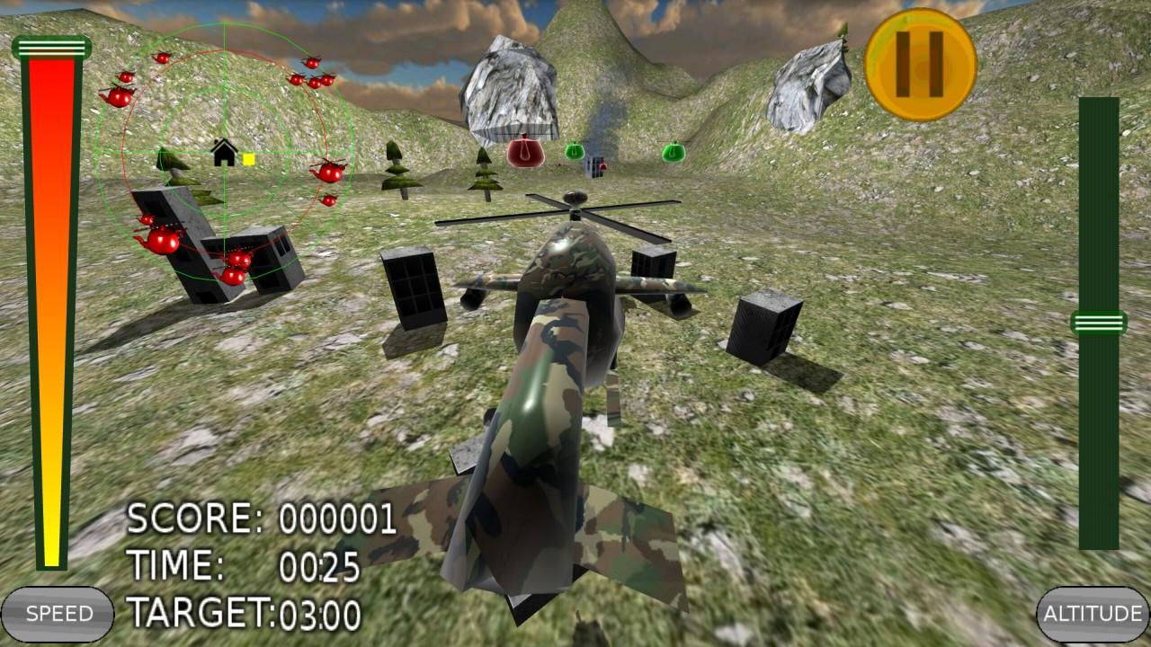 Attack of the Teapotcopters VR- screenshot