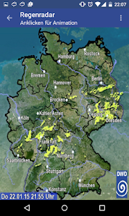 Wetterwarner Pro Screenshot