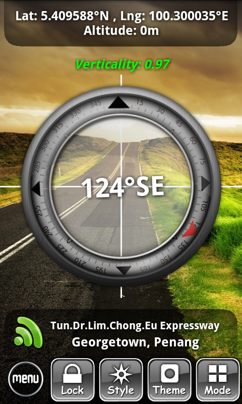 ON Compass - screenshot