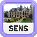 Sens Offline Map Guide icon