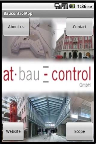 at bau-control Info-App