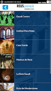 Reus Turisme- screenshot thumbnail