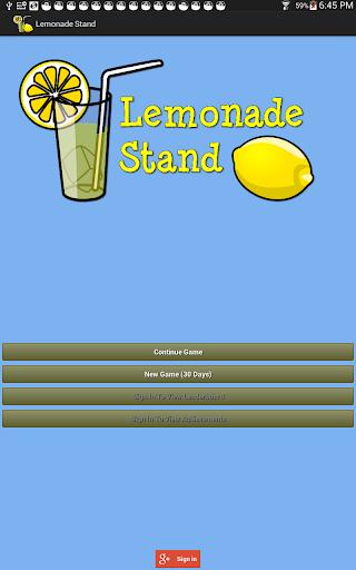 【免費休閒App】Lemonade Stand-APP點子
