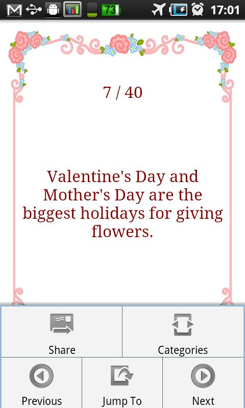 Valentine's Day Fun Facts- screenshot