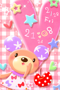 Bear Pastel.LWP screenshot 1