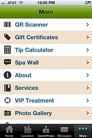 Avalon Spa and Salon- screenshot