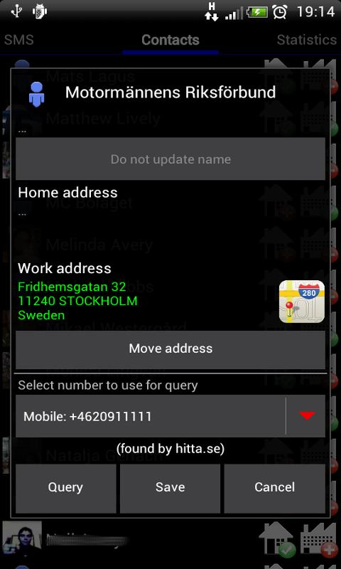 Call Finder Demo - screenshot