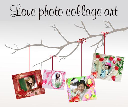 Love Photo Collage Art