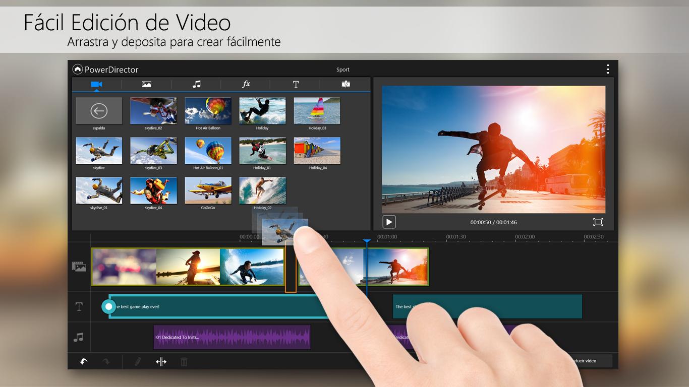 Powerdirector Editor De Video Aplicaciones De Android