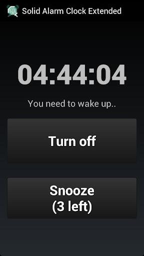 Solid Alarm Clock Extended 3.19 screenshots 5