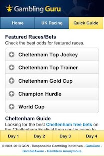 Cheltenham Festival Guide - screenshot thumbnail
