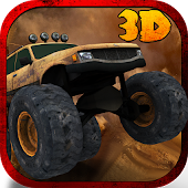 3D Monster Truck Parking