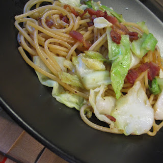 Cabbage and Bacon Pasta