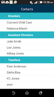 Parents Connect App screenshot
