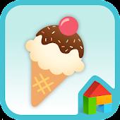 ice cream lover dodol theme