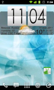 Live Wallpaper Flip Clock Tria - screenshot thumbnail