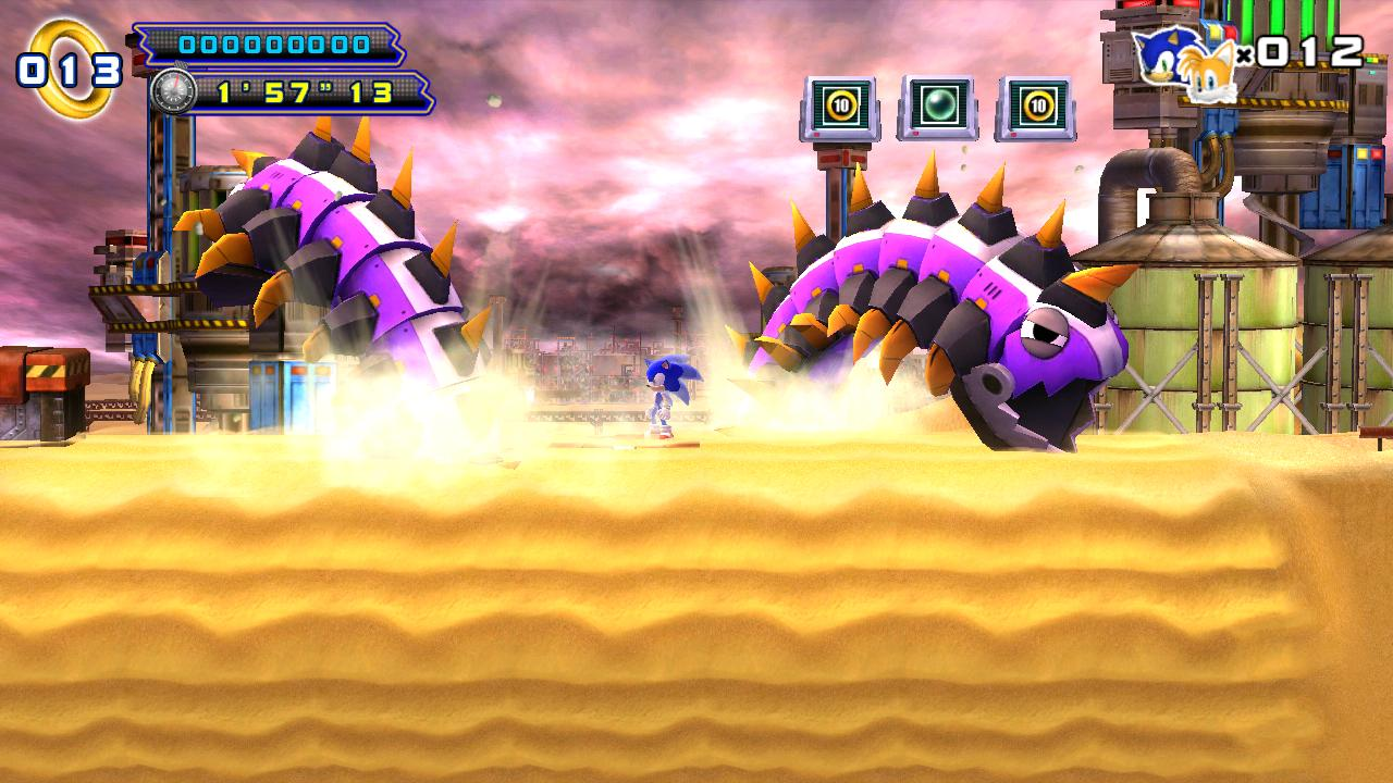 Sonic 4 Episode II THD- screenshot
