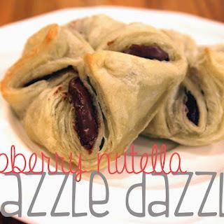 Raspberry-Nutella Razzle Dazzles
