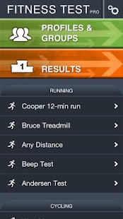 Fitness Test pro - screenshot thumbnail
