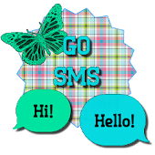 PlaidButterfly/GO SMS THEME
