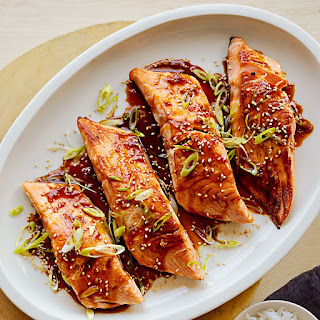 Sous Vide Salmon Teriyaki